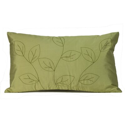 Jiti Pillows Leaves Silk Decorative Pillow