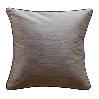 Jiti Pillows Plain Piping Stripe Square Polyester Decorative Pillow