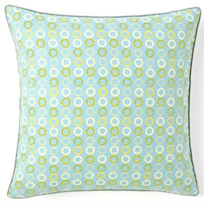 Jiti Rings Square Cotton Pillow