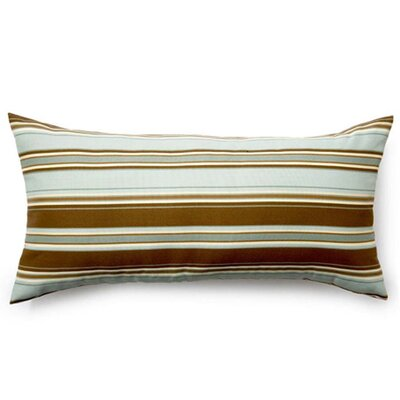 Jiti Pillows Thick Stripes Outdoor Decorative Pillow in Spa