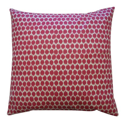 "Jiti Pillows Splotch 20"" x 20"" Pillow in Fuschia"