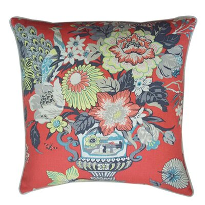 "Jiti Pillows Royalty 24"" x 24"" Pillow in Red"