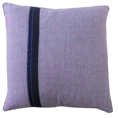 Kids Gingham Cotton Pillow