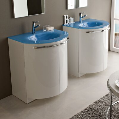 "Acquaviva Archeda II 27.56"" Single Curved Bathroom Vanity Set"