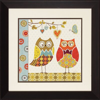 Propac Images Owl Wonderful I/II Wall Art (Set of 2)
