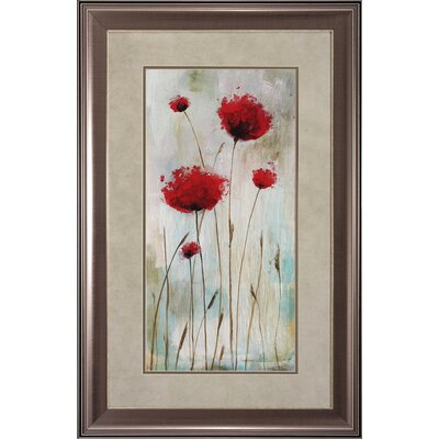 Propac Images Splash Poppies I / II Wall Art (Set of 2)