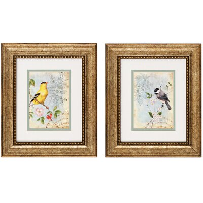 Propac Images Songbird II / III Framed Art (Set of 2)