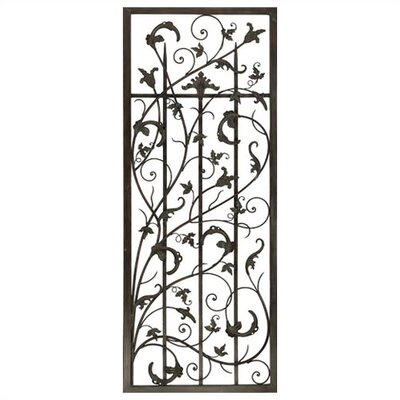 Rusty Vine Trellis I Metal Art
