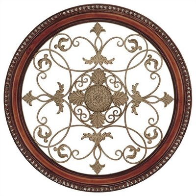 Aged Brown Tuscan Romance Metal Art