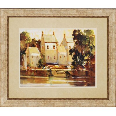 "Paragon Steps to the Manor by Goerschner Landscapes Art - 39"" x 46"""