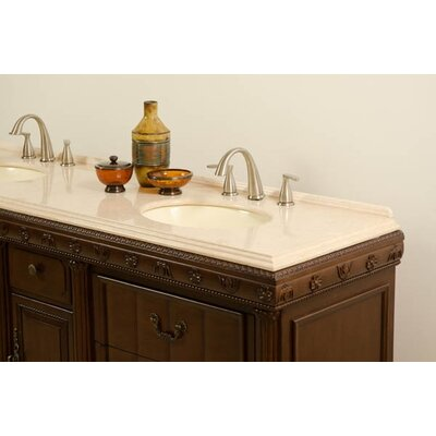 "Global Treasures Kent 60"" Double Sink Vanity"