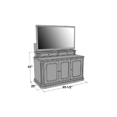"TVLIFTCABINET, Inc Banyan Creek 66"" TV Stand"
