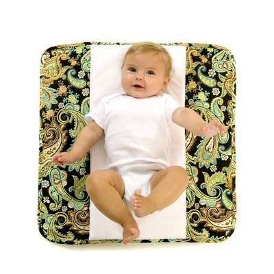 Ah Goo Baby The Plush Pad Memory Foam Changing Pad in High Tea
