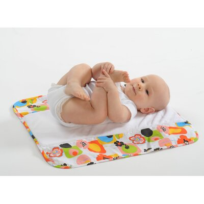 Ah Goo Baby The Plush Pad Memory Foam Changing Pad in Poppy
