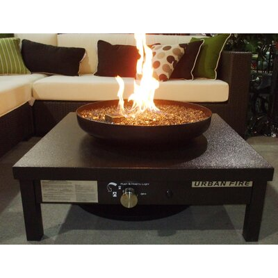 Urban Fire Stainless Steel Outdoor Fireplace