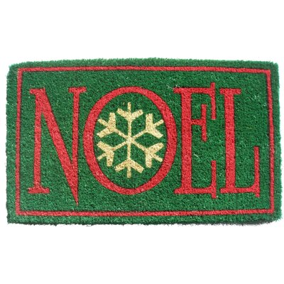 Imports Decor Noel Doormat