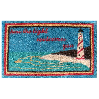 Imports Decor Light House Doormat