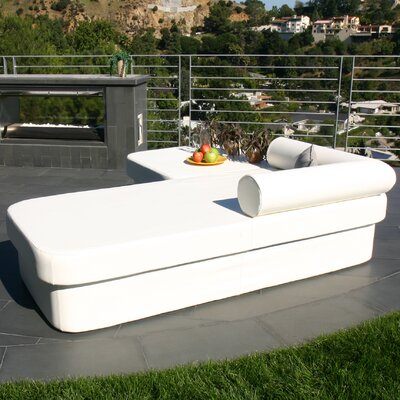 La-Fete COT Resort Chaise Lounge with Cushion