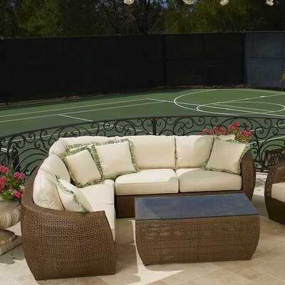 Sunset West Huntington Deep Seating Group with Cushions