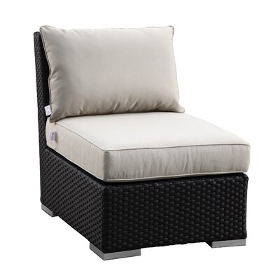 Sunset West Solana Armless Club with Cushions