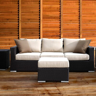 Sunset West Solana Sofa with Cushion