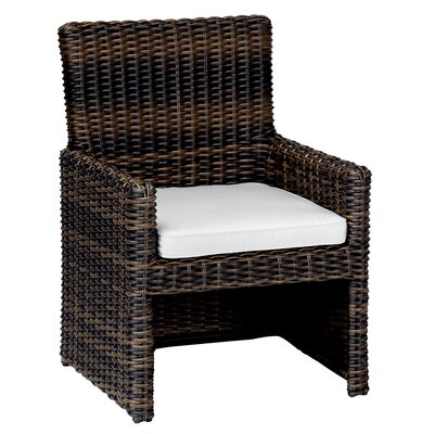 Sunset West Montecito Dining Arm Chair with Cushion