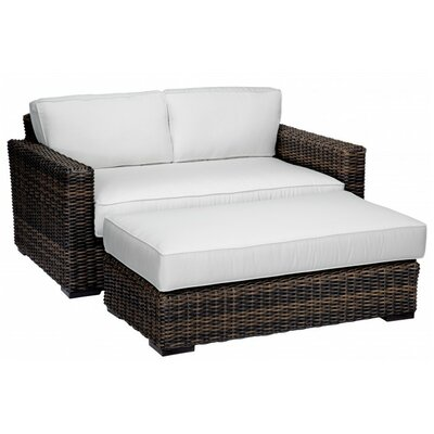 Sunset West Montecito Double Chaise Lounge with Cushions