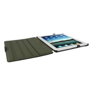 rooCASE Slim Fit Folio Case Cover Stand for Apple iPad 2