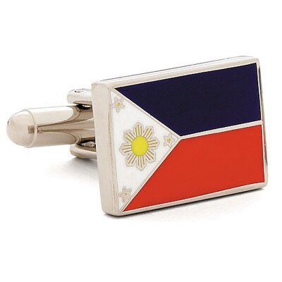 Cufflinks Inc. Philippine Flag Cufflinks