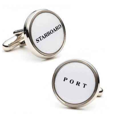 Cufflinks Inc. Starboard and Port Cufflinks