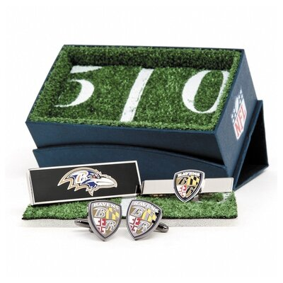 Cufflinks Inc. NFL Three Piece Gift Set