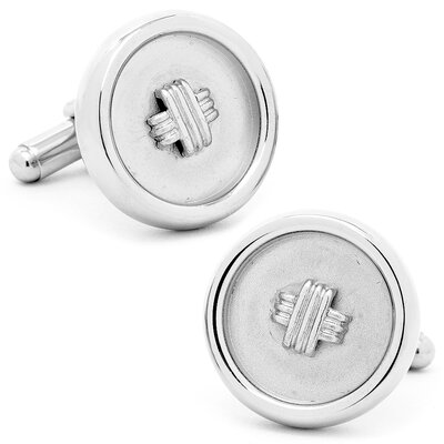 Ox and Bull Classic Button Cufflinks