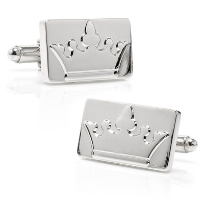 Ox and Bull Crown Cufflinks