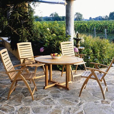 Kingsley Bate Catalina 5 Piece Dining Set