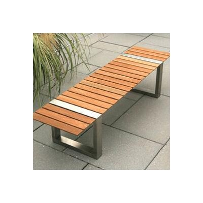 Kingsley Bate Boca Teak and Stainless Steel Picnic Bench