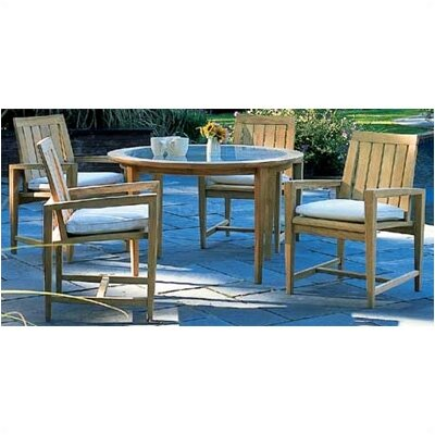 Kingsley Bate Amalfi 5 Piece Dining Set