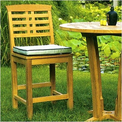 "Kingsley Bate Mandalay 27"" Outdoor Bar Chair"