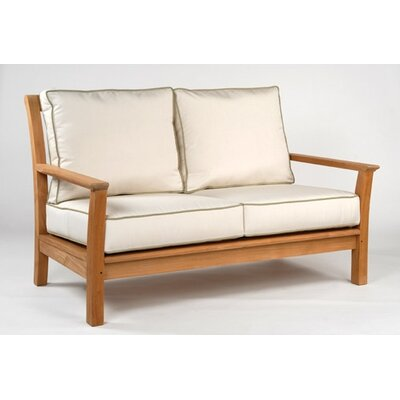 Kingsley Bate Chelsea Deep Seating Settee with Cushions