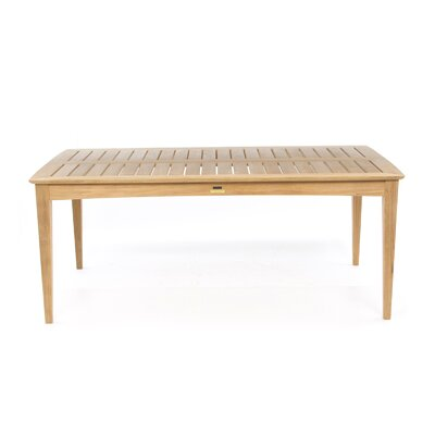 Kingsley Bate Amalfi  Rectangular Dining Table