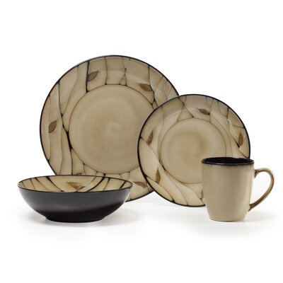 Pfaltzgraff Everyday Briar 16 Piece Dinnerware Set