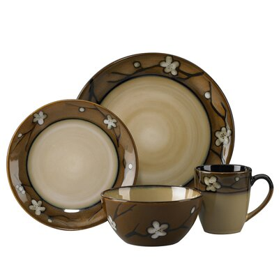 Flora 16 Piece Dinnerware Set