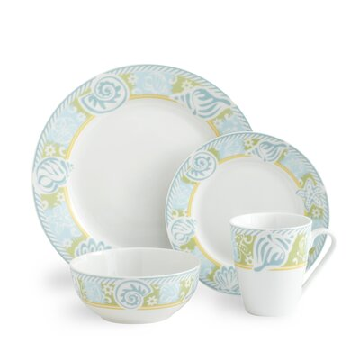 Pfaltzgraff Seaside 32 Piece Dinnerware Set