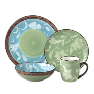 Pfaltzgraff Patio Garden 16 Piece Dinnerware Set