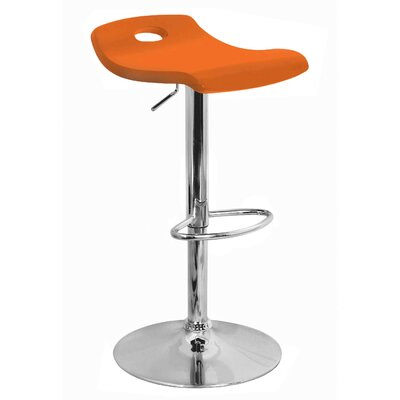 Surf Bar Stool in Orange
