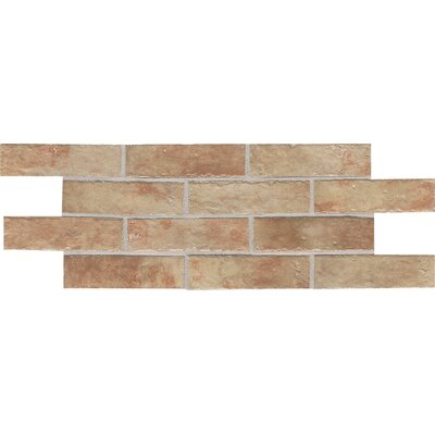 "Daltile Union Square 2-1/4"" x 8"" Brick Field Tile in Terrace Beige"
