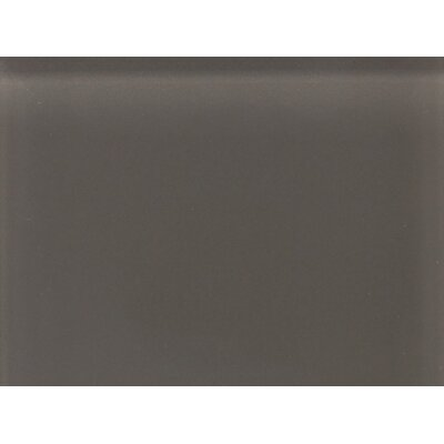 "Daltile Glass Reflections 11 1/2"" x 15 1/2"" Glossy Random Interlocking Accent in Kinetic Khaki"