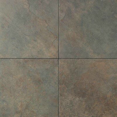 "Daltile Continental Slate 12"" x 12"" Field Tile in Brazilian Green"