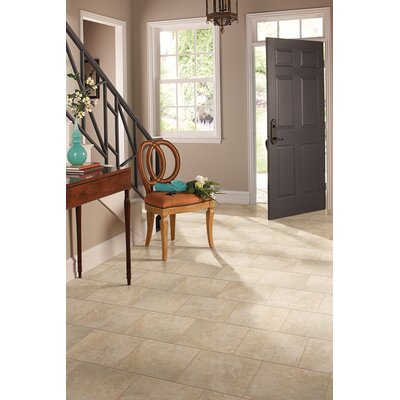"Daltile Alessi 20"" x 20"" Unpolished Field Tile in Crema"