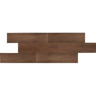 "Daltile Terrace 6"" x 36"" Unpolished Field Tile in Espresso"