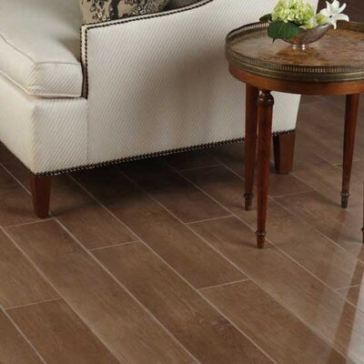 "Daltile Terrace 6"" x 36"" Unpolished Field Tile in Walnut"